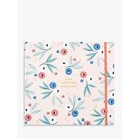 Busy B Birthday Card Organiser Book