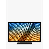 """Toshiba 55UL5A63DB (2019) LED 4K Ultra HD Smart TV, 55"""" with Freeview HD & Freeview Play, Black"""