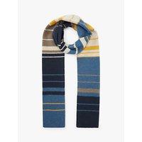 John Lewis & Partners Mini Stripe Cashmere Scarf, Multi