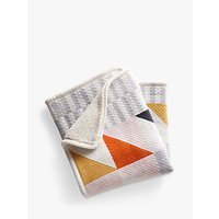 Pottery Barn Kids Organic Square Knit Baby Blanket, Multi
