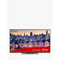 """Toshiba 43UL5A63DB (2019) LED 4K Ultra HD Smart TV, 43"""" with Freeview HD & Freeview Play, Black"""
