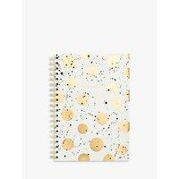 Portico B5 Spiral Gold Spot Notebook