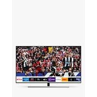 Samsung QE65Q80R (2019) QLED HDR 1500 4K Ultra HD Smart TV, 65 with TVPlus/Freesat HD, Eclipse Silver