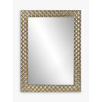 shop for John Lewis & Partners Mosaic Wall Mirror, 106 x 75cm, Champagne at Shopo
