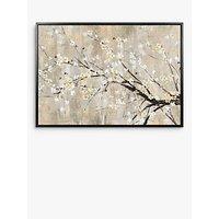 Asia Jensen - Apple Blooms Framed Canvas, 74.5 x 104.5cm, Yellow/White