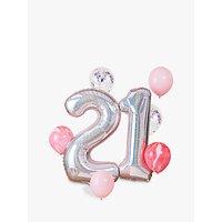 Ginger Ray 21st Birthday Balloon Bundle