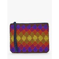 shop for Nice Things Colour Therapy Beaded Sling Clutch, Multi at Shopo