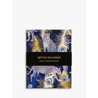 Image of Museums & Galleries Matthew Williamson Feathered Note Cards, Pack of 16