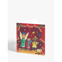Woodmansterne Nativity Advent Calendar Card