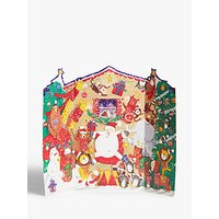Woodmansterne Father Christmas and Friends Advent Calendar