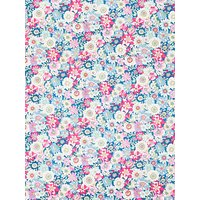 Sevenberry Sixties Floral Print Cotton Fabric, Multi