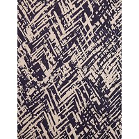 Montreux Fabrics Exclusive Abstract Floral Print Fabric, Blue