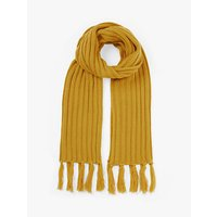 shop for Unmade Brylie Tassel Scarf, Yellow at Shopo