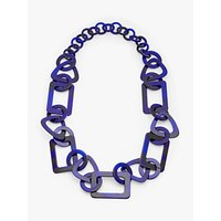 shop for John Lewis & Partners Resin Chain Statement Necklace at Shopo