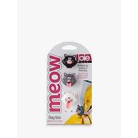 Joie Cat Bag Tie Clips, Set of 3, Multi