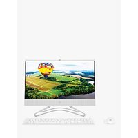 HP 22-C0030NA All-in-One Desktop PC, AMD A9 Processor, 4GB RAM, 1TB HDD, 21.5 Full HD, Snow White