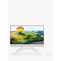 HP 24-F0036NA All-in-One Desktop PC, Intel Pentium Processor, 8GB RAM, 1TB HDD, 23.8 Full HD, Snow White