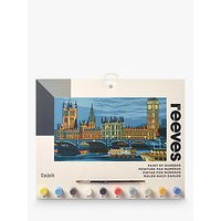 Reeves Houses of Parliament Paint by Numbers Set