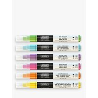 Liquitex Vibrant Fine Paint Markers, Set of 6