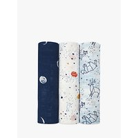 aden + anais Stargaze Baby Swaddle Blanket, Pack of 3