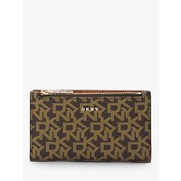 Dkny Bryant Bi-fold Logo Card Holder Purse
