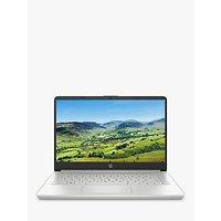 HP 14s-dq0003na Laptop, Intel Core i3 Processor, 8GB RAM, 128GB SSD, 14 Full HD, Natural Silver