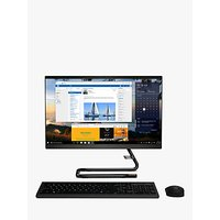 Lenovo IdeaCentre A340-22IWL All-in-One Desktop PC, Intel Pentium Gold Processor, 8GB RAM, 1TB HDD, 21.5 Full HD, Black