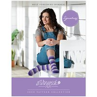 West Yorkshire Spinners Winwick Mum Sock Pattern Collection Book