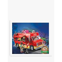 Image of Playmobil The Movie 70075 Del's Food Truck