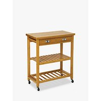 Hahn 5five Double Butchers Trolley, Bamboo