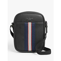 shop for Ted Baker Carves Flight Bag, Black at Shopo