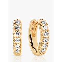 Sif Jakobs Jewellery Elra Cubic Zirconia Hoop Earrings