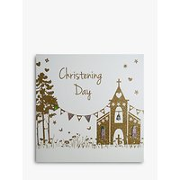 Five Dollar Shake Church Christening Day Card