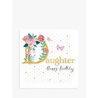 Woodmansterne Floral Daughter Birthday Card