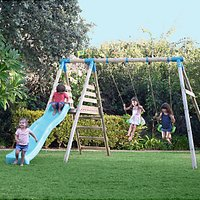 TP Toys Brecon Double Swing Set