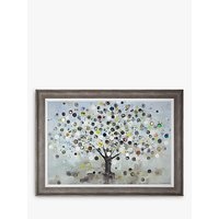 Ulyana Hammond - The Watch Tree (Large) Framed Canvas and Mount, 85 x 117cm, Multi
