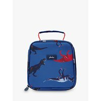 Little Joule Dinosaur Lunch Bag, Navy