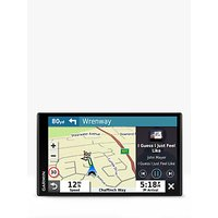 Garmin DriveSmart 65 Sat Nav with Bluetooth & Alexa Voice Control, 6.95 Screen, Full Europe