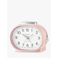 image-Acctim Lila Sweep Analogue Alarm Clock, Nougat