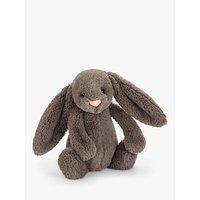 Jellycat Bashful Bunny Soft Toy, Medium, Truffle
