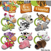 FlipaZoo 16 Soft Toys, Assorted