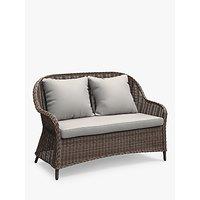 John Lewis and Partners Rye 2-Seat Garden Sofa, Natural