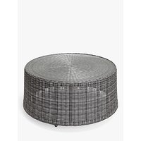 John Lewis and Partners Hoxton Garden Coffee Table, Grey