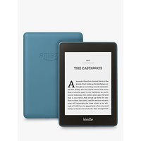 Amazon Kindle Paperwhite, Waterproof eReader, 6 High Resolution Illuminated Touch Screen, Built-In Audible, 8GB, with Special Offers