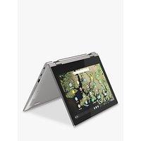 Lenovo Chromebook C340-11 1TA000BUK Chromebook, Intel Celeron, 4G RAM, 32GB eMMC, 11.6, Platinum Grey
