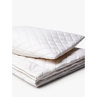 image-little home at John Lewis Children's Natural Wool Single Duvet and Pillow Set, 300g, 5-7 Tog