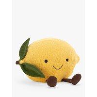 Jellycat Amuseable Lemon Soft Toy, Medium