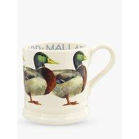 Emma Bridgewater Mallard Duck Half Pint Mug, 280ml, Green/Multi