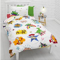 Toy Story Reversible Duvet Cover and Pillowcase Set, Single, Multi