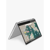 Lenovo Chromebook C340-15 81T90009UK Convertible Laptop, Intel Pentium Gold, 4G RAM, 32GB eMMC, 15.6, Mineral Grey